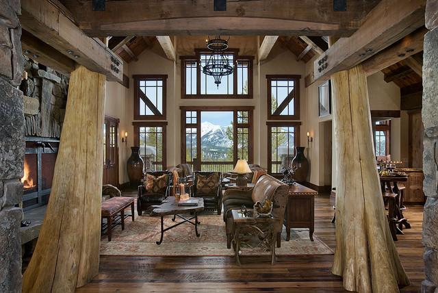 Elk Ridge Lodge Interior traditional-entry