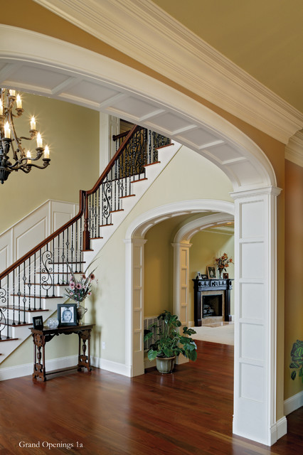 Elliptical Arched Cased Opening Traditional Entry
