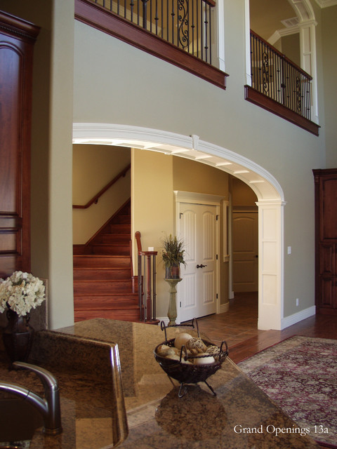 Elliptical Arched Cased Opening Unit traditional-entry
