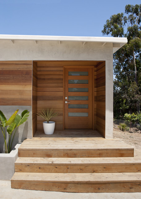 Exciting Modern Front Doors Ideas For Modern Home Design Recessed Lighting And Modern Front: Encinitas Residence Remodel