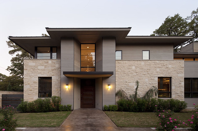 Enfield Residence contemporary-entry