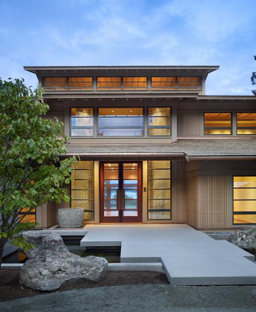 Houzz Home Design Exterior Entrance: By Stephen Sullivan Designs