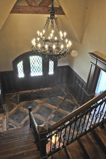 English Tudor Traditional Entry Oklahoma City By
