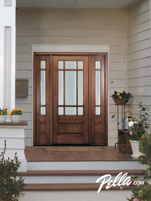 Enhance Your Home S Entryway With Pella Front Doors Contemporary Entry
