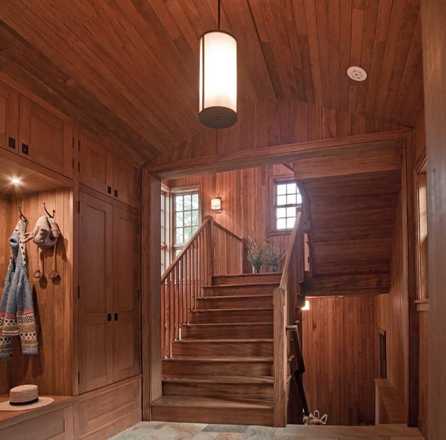 Entance Hall/Mudroom rustic-entry