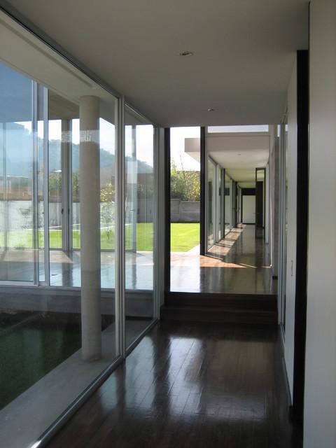 Entrance corridor modern entry other by carolina katz paula nu ez - Corridor entrance ...