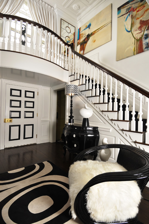 Decorating With Black And White Nw Rugs Furniture