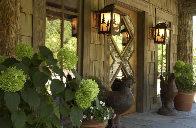 Entrance rustic-entry