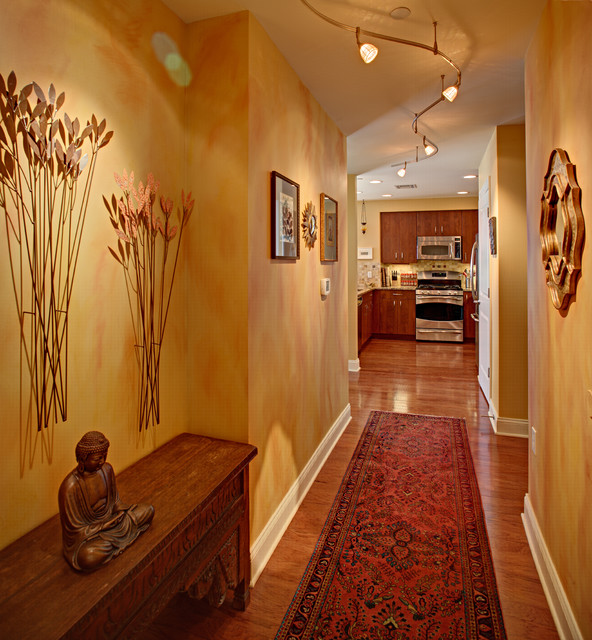 entrance luxury condo eclectic entry new york by