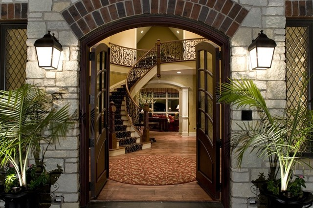 Entrance eclectic-entry