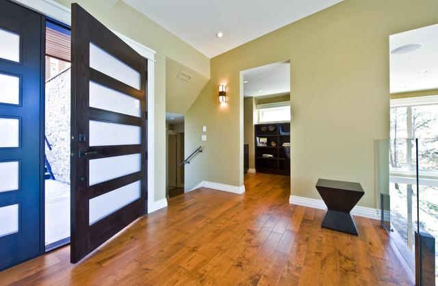 Entry contemporary-entry