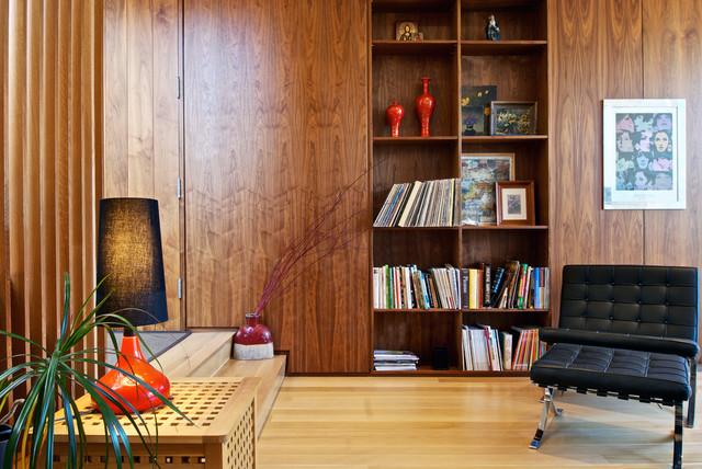 Entry + Bookshelf - Modern - Entry - Toronto - by Andrew Snow Photography