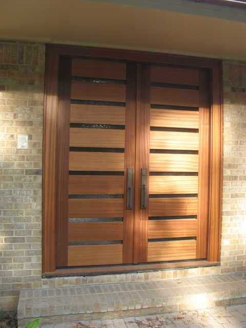 Entry Doors - Gragg style - modern - entry - raleigh - by ...