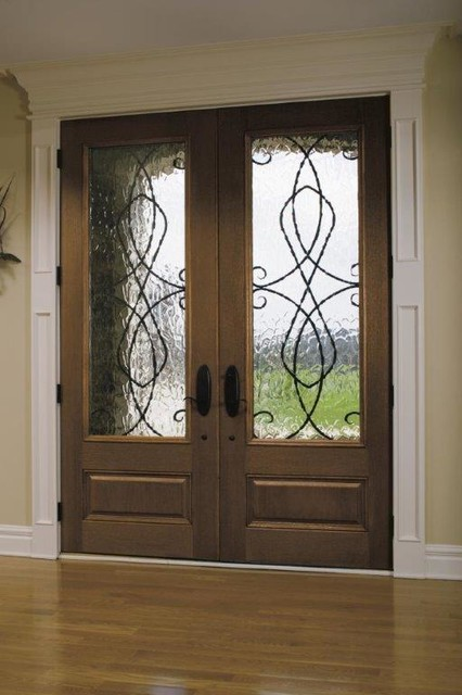 Entry Double Doors Mediterranean Entry San Francisco By