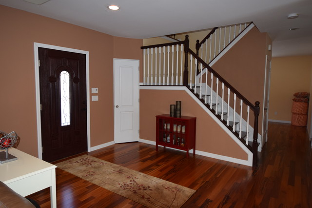 Home Staging Foyer : Entry foyer staging transitional new york by