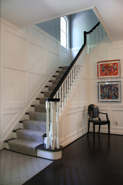Foyer Stairs For Sale : Entry foyer contemporary st louis by terra