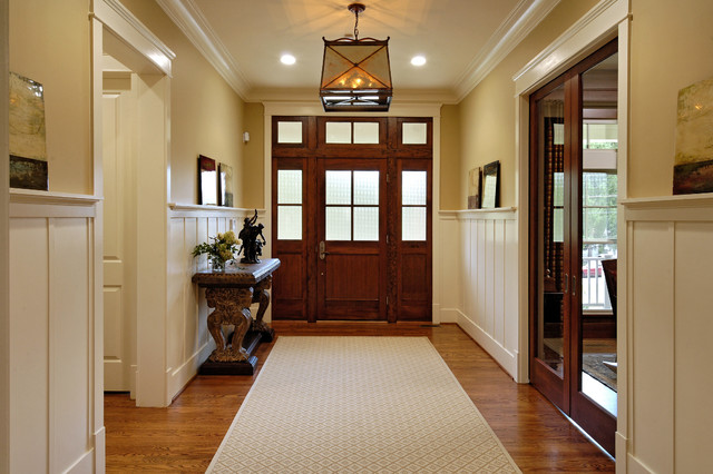 Jamie Foyers Traditional : Entry foyers by meridian homes inc traditional