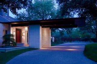entry modern entry
