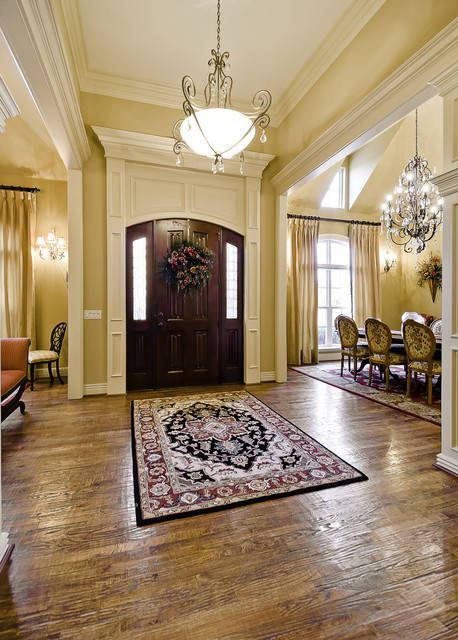 entry hall - traditional - entrance - little rock -celtic