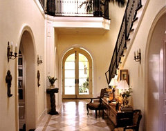 Entry Hall, Landing & Stairway traditional-entry