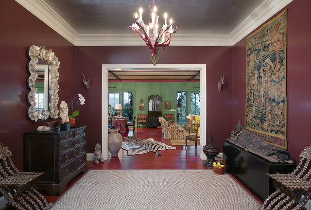Eclectic Entry by Tom Meaney Architect, AIA