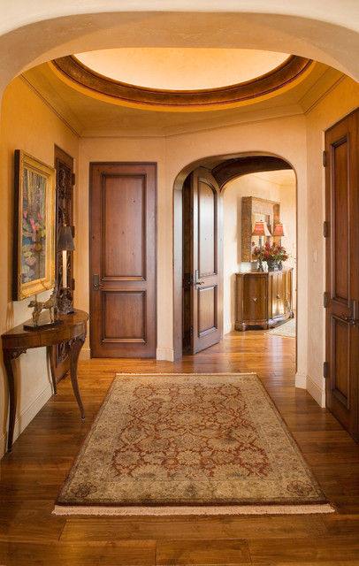 Rustic jewel mediterranean entry minneapolis by for Mediterranean interior doors