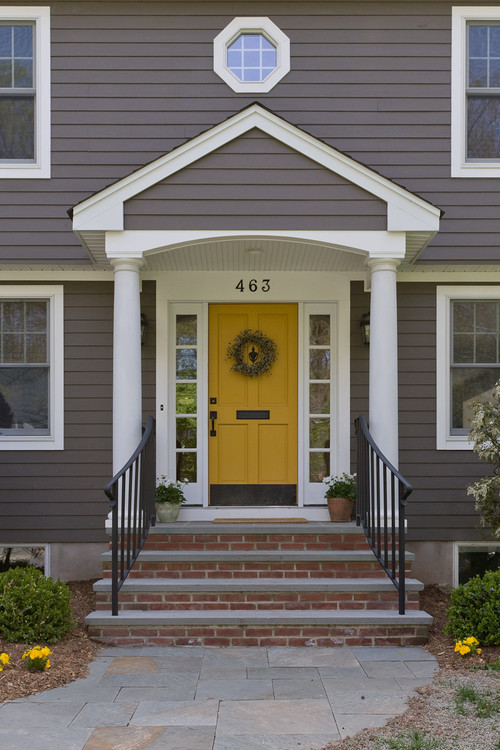 30 Front Door Colors With Tips For Choosing The Right One Postcards From The Ridge