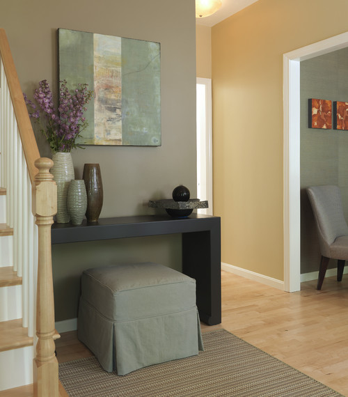 Modern Foyer Houzz : Designing home take one console table and