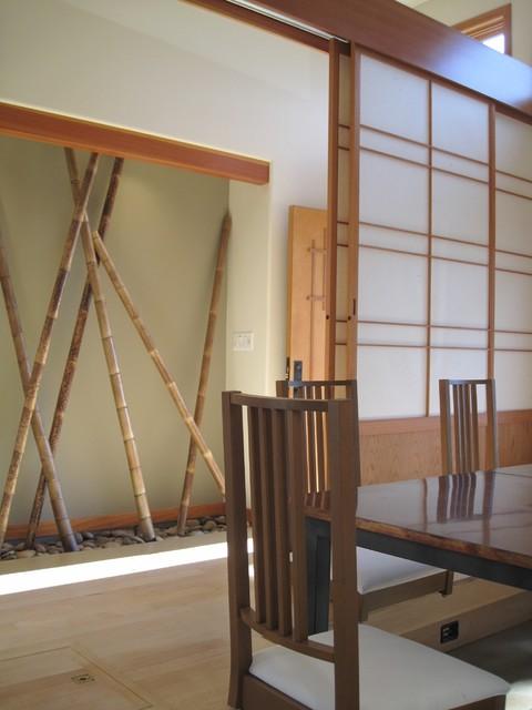 Shoji screen asian-entry