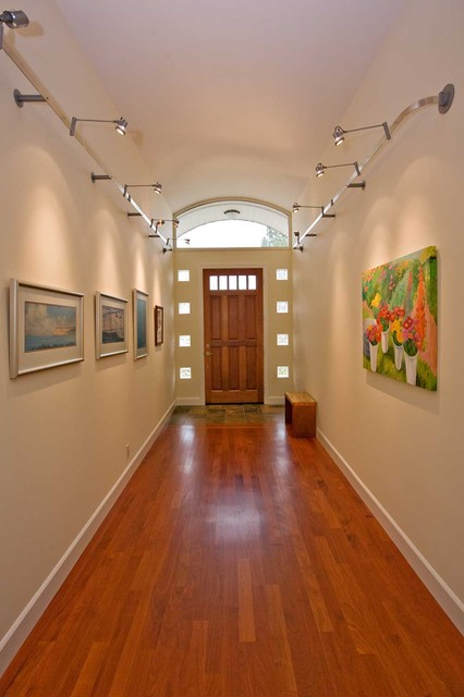 Entry With Barrel Vaulted Ceilings And Glass Block Modern Entry San Francisco By Bill