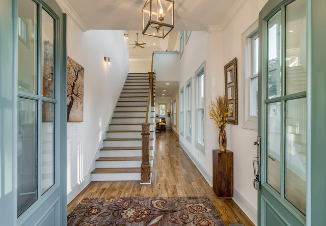 Entry With Sherwin Williams Undersea Rustic Entry