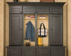 Entryway Boot Benches and Mudroom Lockers traditional entry