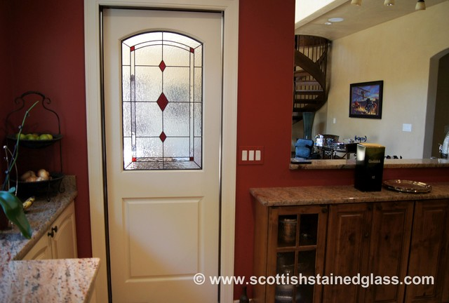 Entryway Stained Glass traditional-entry