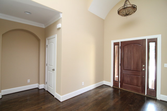 Traditional Foyer Uk : Entryway traditional entrance raleigh by stanton homes
