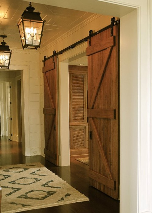 Pinklet And C Sliding Barn Doors