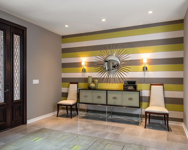 Modern Foyer Houzz : Entryways contemporary entry detroit by terry