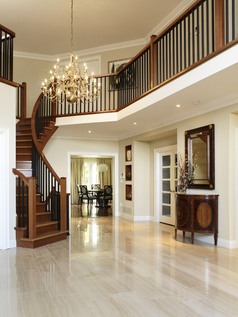 erin mills project - foyer transitional-entry