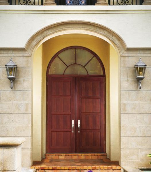 Estate Entrances traditional-entry
