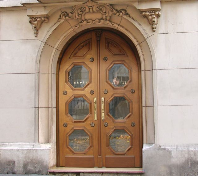 European antique doors for European exterior doors