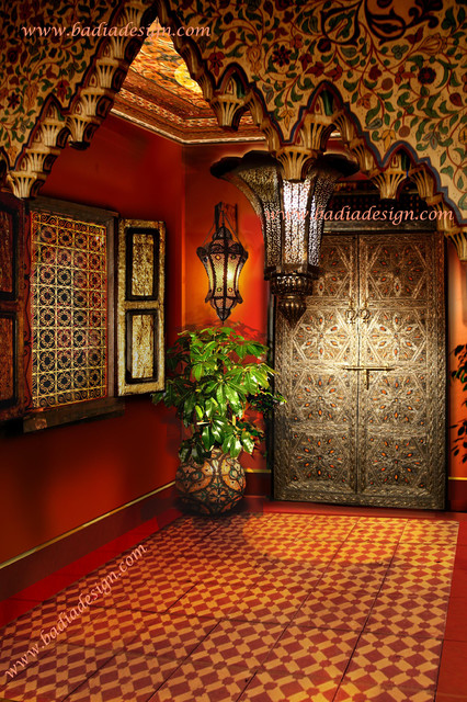 Exotic Moroccan Furniture Mediterranean Entry