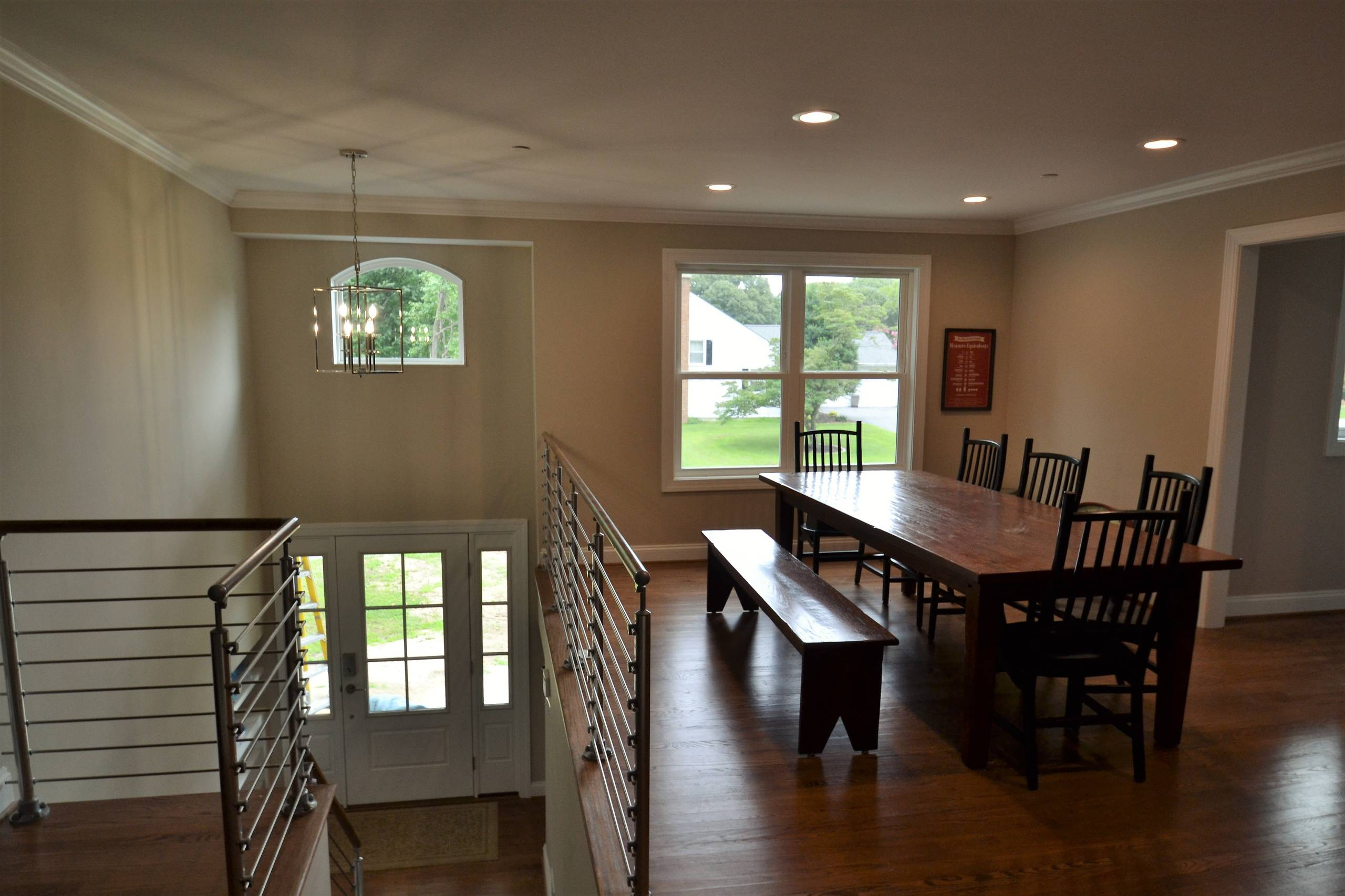 Expanded Foyer and Dining Room