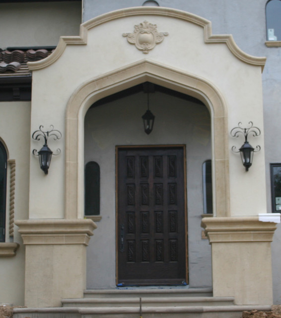 Exterior Molding Trim Enhance Doors And Windows Mediterranean