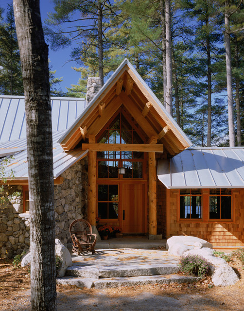 Exterior rustic-entry