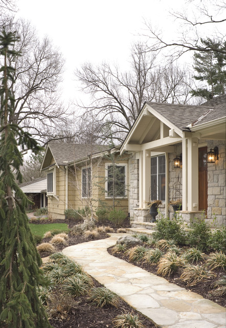 Fairway Ranch Renovation Entry Traditional Entry Kansas City By Rothers Design Build