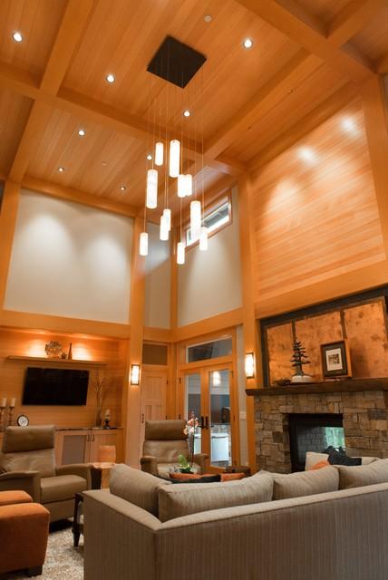 Farmhouse Pendant Lighting For High Ceiling Es Modern