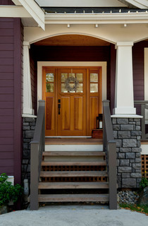 Farmhouse - Traditional - Entry - Vancouver - by Rockridge Fine Homes