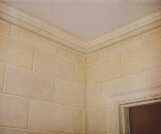 Faux Limestone Block - Faux limestone tile