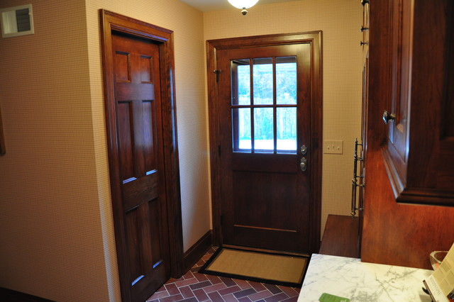 Favorite Laundry/Mudroom Designs traditional-entry
