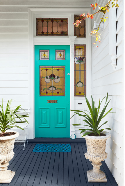 Victorian Entry by Dulux Paint & Federation House Colour Schemes u0026 How to Choose | Houzz