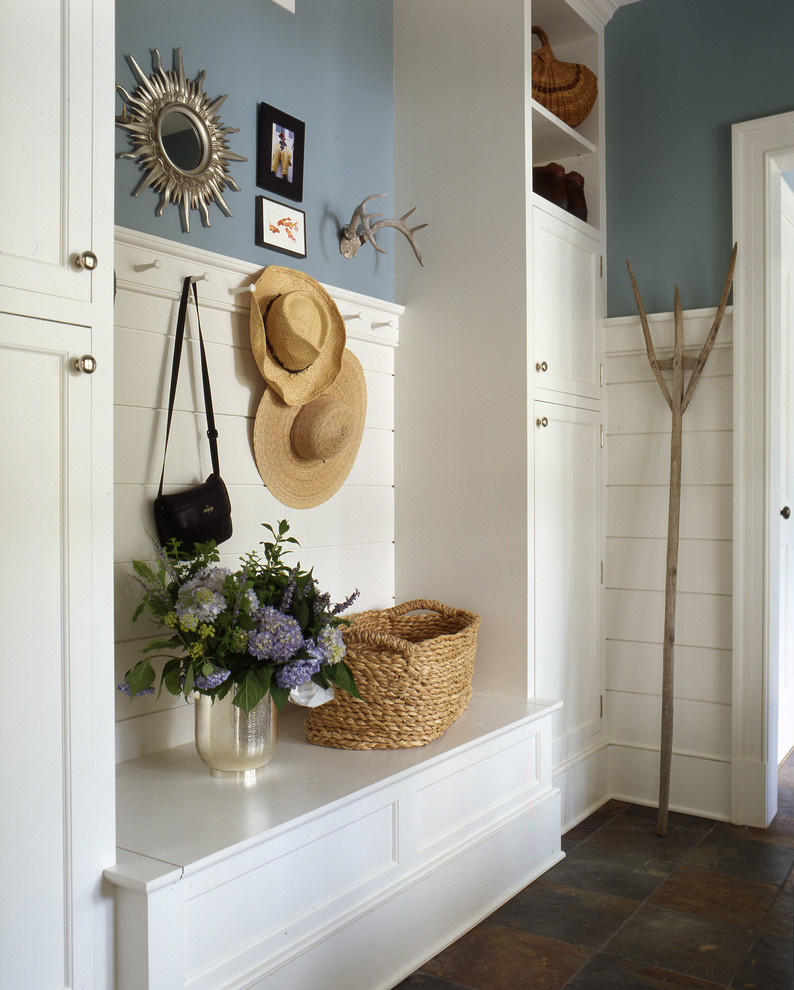 Example of a classic mudroom design in DC Metro